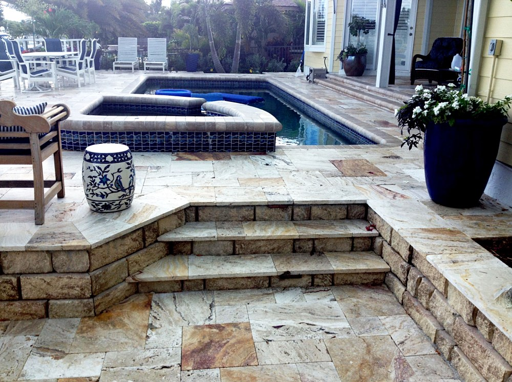 Before Amp After Paver Gallery Lutz Florida Fl